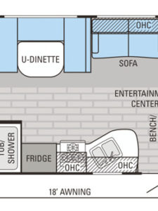 29-foot-rental-trailer-bayleys-resort-layout