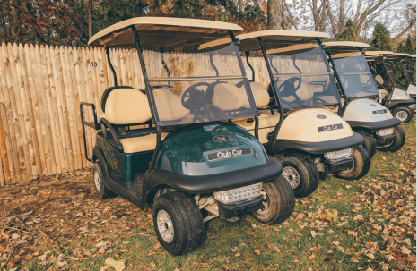 Golf Cart Rentals at Bayley's Resort