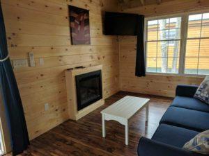 bayleys-resort-cabin-rentals-electric-fireplace
