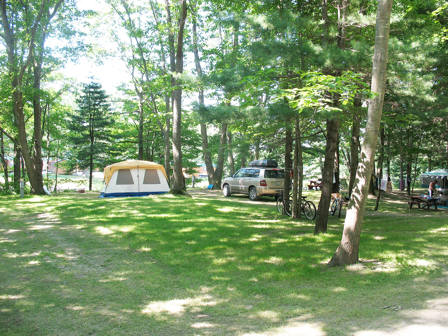 Camping Sites | Bayley's Camping Resort