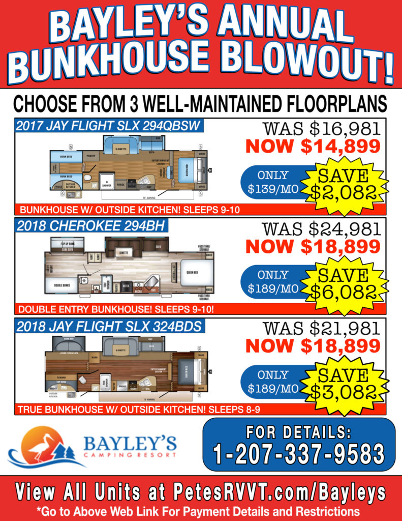 Bayley's Annual Bunkhouse Blowout!